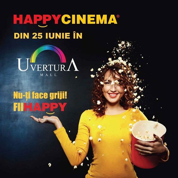 Vezi care este programul săptămânii 2026 august la Happy Cinema