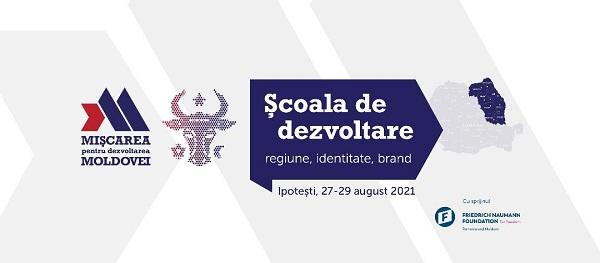 Școala de dezvoltare Moldova 2021  MDM în perioada 2728 august la Ipotești