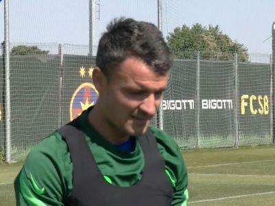 Constantin Budescu a debutat pentru FCSB Mijlocașul a intrat pe teren în meciul cu FCU Craiova