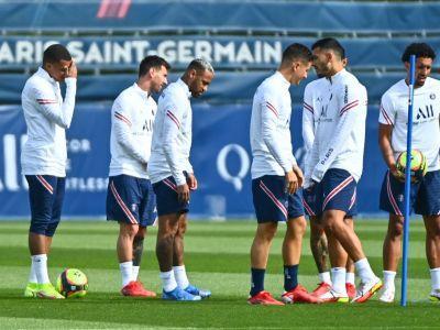 bdquoNici atunci nu se relaxează  Dezvăluiri de la antrenamentele lui PSG Cum impresionează Messi
