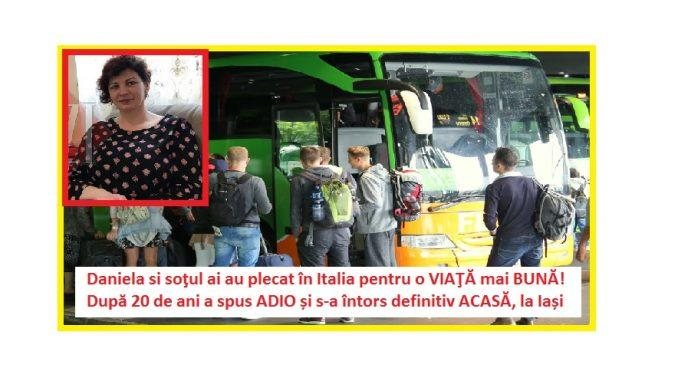 Daniela si soţul ai au plecat în Italia pentru o VIAŢĂ mai BUNĂ După 20 de ani a spus ADIO și sa întors definitiv ACASĂ la Iași