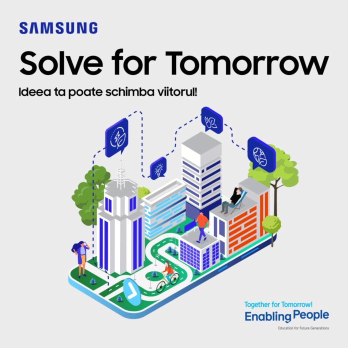 Samsung aduce şi în România competiţia Solve For Tomorrow dedicată elevilor de liceu