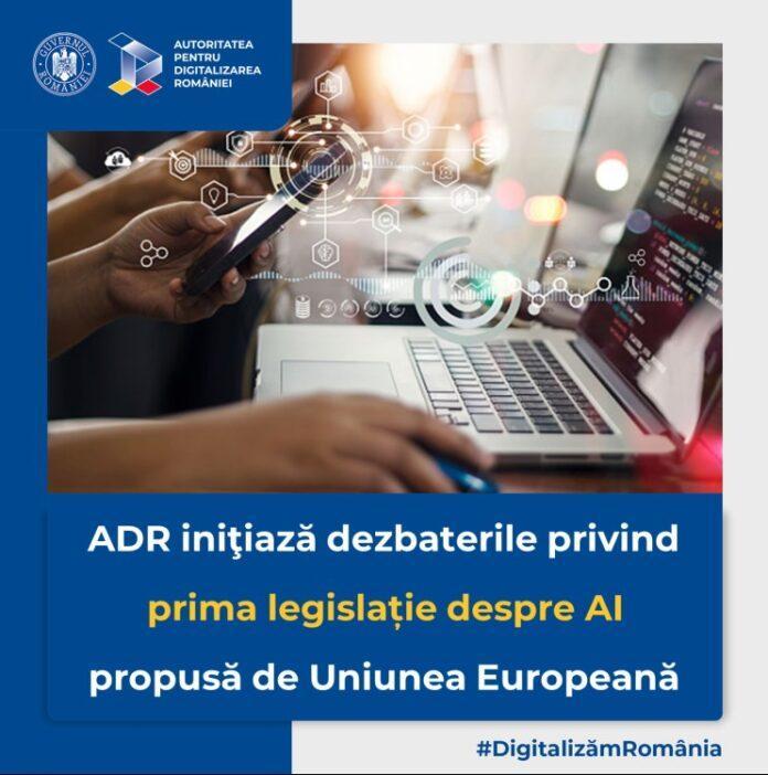 Octavian Oprea ADR 31 dintre companiile din România au introdus sisteme de inteligență artificială în activitatea proprie peste media europeană de 25 Punem în dezbatere publică prima propunere legislativă europeană privind AI