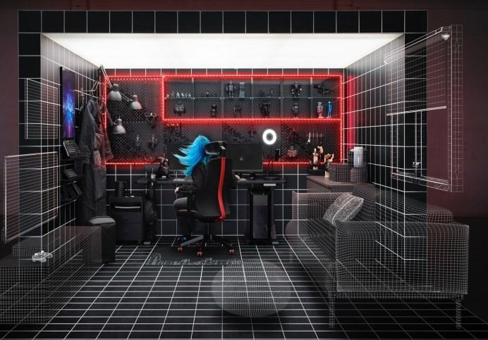 IKEA a dezvoltat mobilier pentru gaming în colaborare cu ROG subbrand ASUS În  România produsele vor fi disponibile din octombrie
