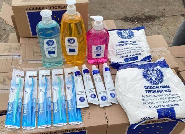 Primăria Medgidia distribuie ajutoarele alimentare destinate persoanelor defavorizate