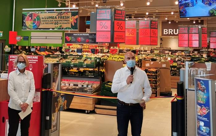 Kaufland a deschis al 4lea magazin din Constanța în cartierul Palazu Mare