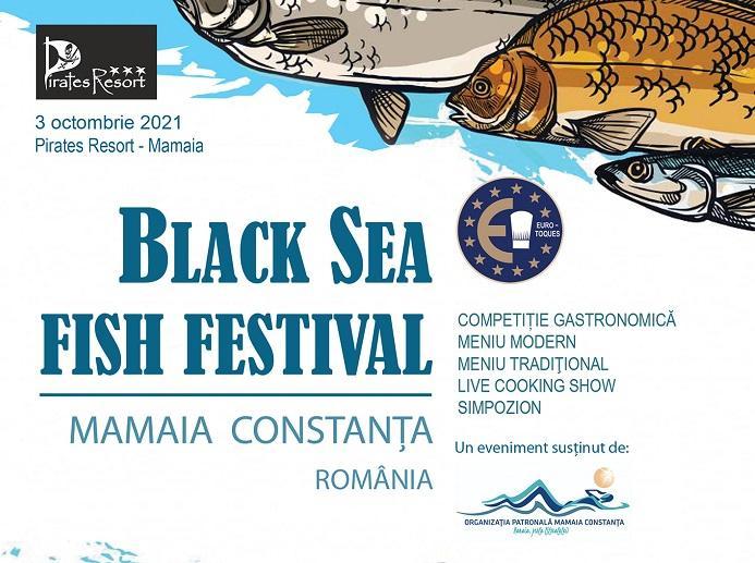 Black Sea Fish Festival singurul eveniment culinar profesional adresat preparatelor gătite cu pește din Marea Neagră
