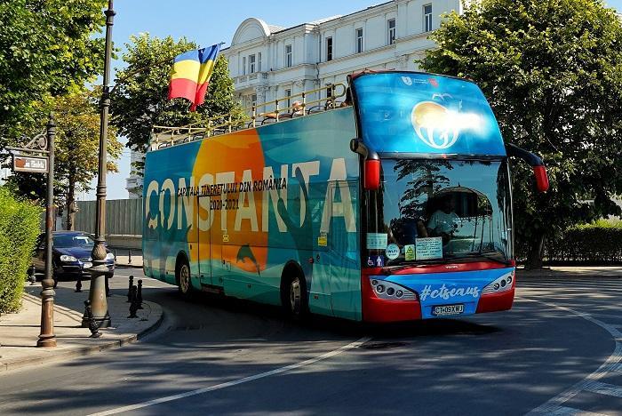Ultimul weekend de plimbări cu autobuzele supraetajate CiTy TOUR