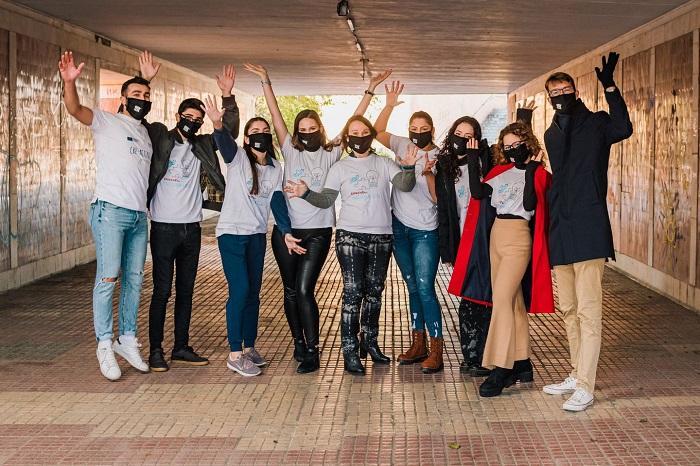 Weekend de socializare în cel mai colorat pasaj din Constanța