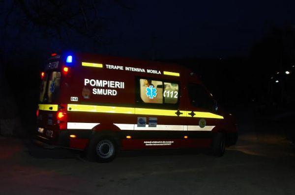 Tânăr din Budacu de Sus beat la volan a provocat un accident în Bistrița El și un alt bărbat au fost răniți