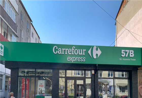 Carrefour România a deschis un nou magazin Express în Bistrița Un concept nou mai aproape de clienți