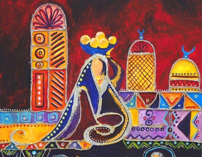 Mihaela Craiu a dus din Bacău la Iași Culorile Orientului