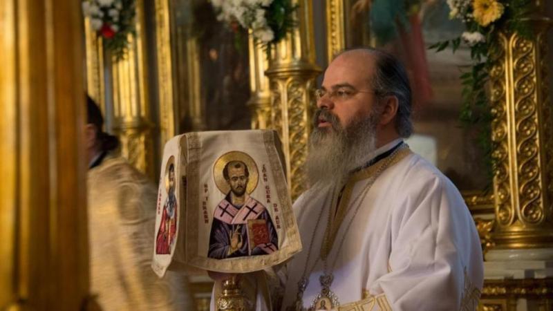Episcopul Hușilor trece Prutul pentru a oficia o slujbă de sfințire la Ungheni în RMoldova