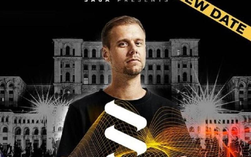 Spectacolul lui Armin van Buuren din București a fost amânat din cauza pandemiei Când a fost reprogramat
