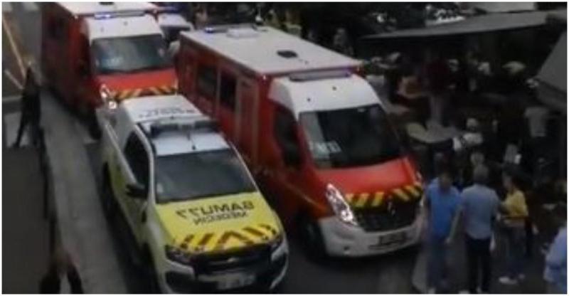 Franţa se persoane au fost rănite după ce o maşină a intrat întro terasă aglomerată