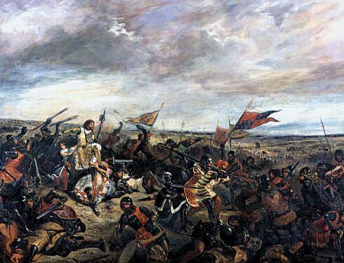 Prințul Negru ia prizonier un rege francez 1356