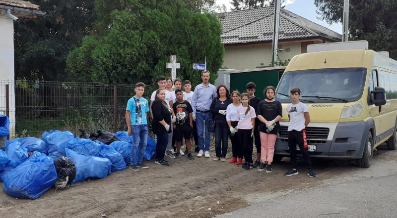 Cum a arătat Ziua Națională a Curățeniei în localitățile din județul Giurgiu FOTO