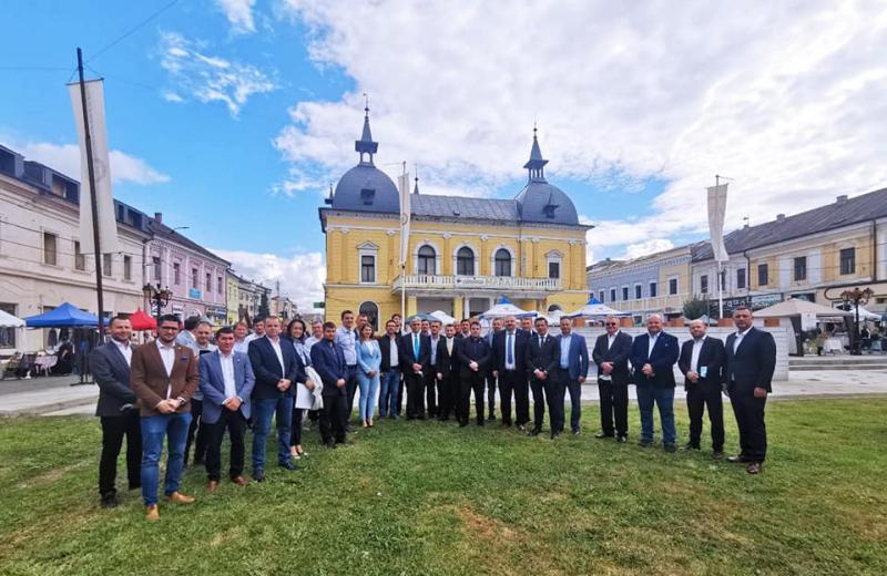 Senatorul USR PLUS Dan Ivan a deschis birou parlamentar în Sighetu Marmației