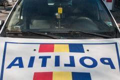 Buzău Autoutilitara Poliției implicată întrun accident Șoferul mașinii a fost sancționat