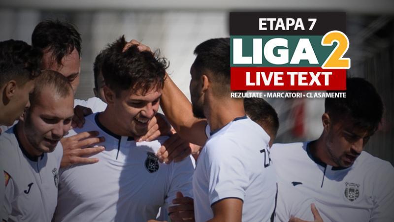 Liga 2 etapa 7  Nu mai puțin de 23 de goluri marcate în cinci meciuri Poli Iași și FC Hermannstadt au câștigat cu 60 FC Buzău și FC Brașov au bătut și ele la scor iar Unirea Dej a trecut de Astra la Giurgiu