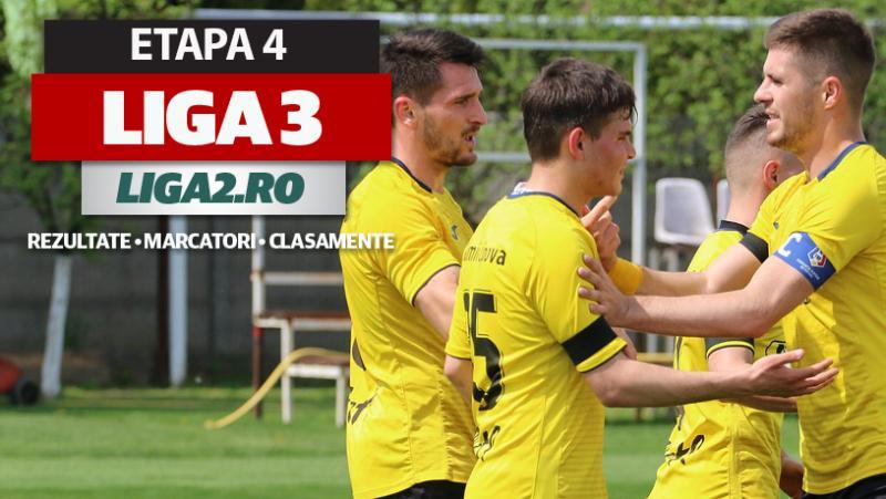 Liga 3 etapa 4 rezultate  Ceahlăul pierde acasă Aerostar face încă un pas greșit iar CS Hunedoara umilește Alba Iulia Farul 2 Spartac Reșița Ghiroda și Minaur continuă fără greșeală