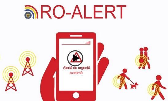 Mesaj ROALERT către populație  Avertismentul autorităților sâmbătă seara