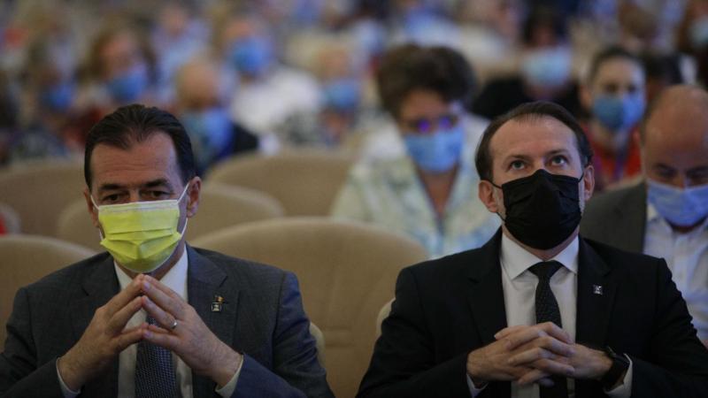 Ludovic Orban și Florin Cîțu la egalitate în județul natal al premierului  PNL Vâlcea a votat la fel ambele moțiuni pentru 25 septembrie