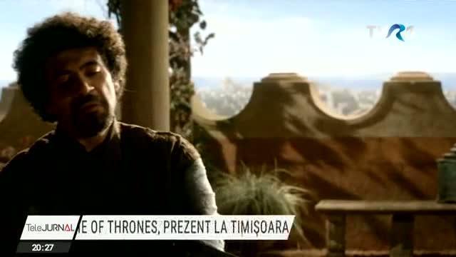 Actorul Miltos Yerolemou din Game of Thrones este la Timişoara Face parte dintrun juriu și sa întâlnit elevii de la Liceul quotIon Viduquot