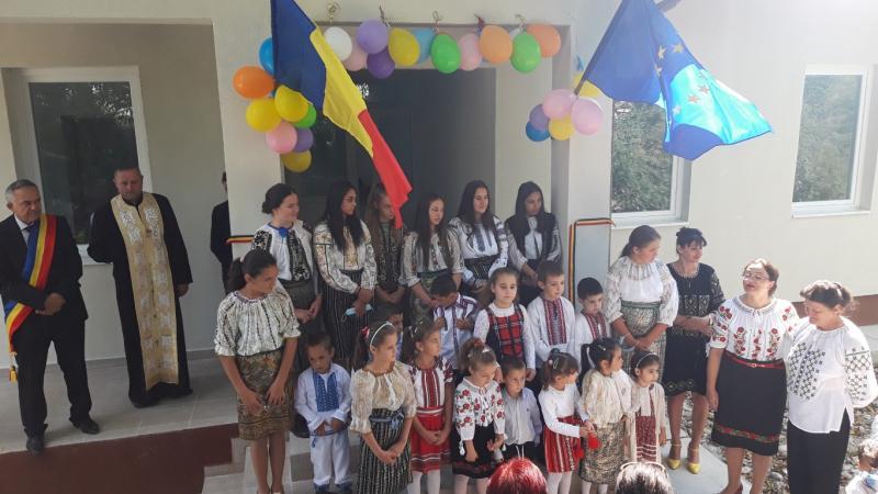 VIDEO Vrâncioaia A fost inaugurată școala de la Ploștina