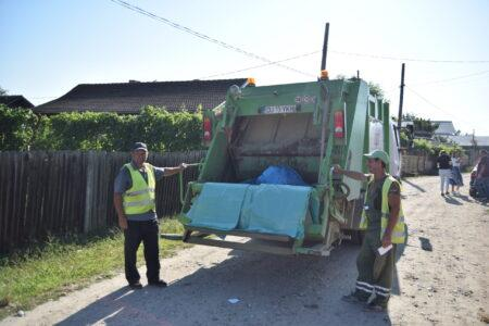 Dolj Cetățenii comunei Leu nu mai aruncă deșeurile la întâmplare colecteza separat