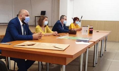 OCPI Dolj la prima întâlnire din cadrul campaniei de informare a cetățenilor din comunele Bistreț și Rast cu ocazia începerii lucrărilor de cadastru general