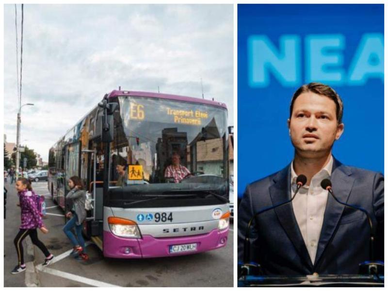 Robert Sighiartău La inițiativa mea Senatul a adoptat proiectul privind transportul specializat de tipul curse școlare
