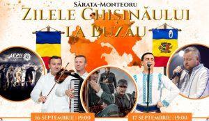 A început prima ediție a Zilelor Chișinăului la Buzău