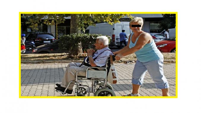 Strigător la CER O Badantă Româncă a Fost Snopită în Bătaie de Bătrânul Italian pe care Îl Îngrijea