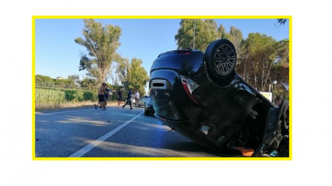 O familie de români din Italia a fost implicată întrun accident cu 8 răniți doi copii și șase adulți