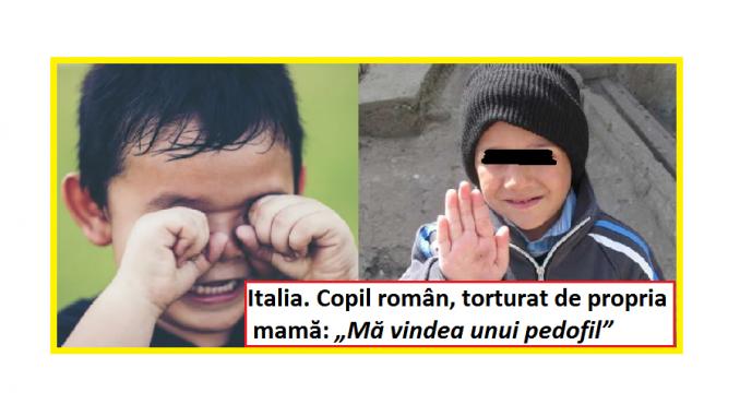 O viață de sclav exploatată și abuzată Episoadele de violență și maltratare suferite de un copil român de 11 anişori din Italia