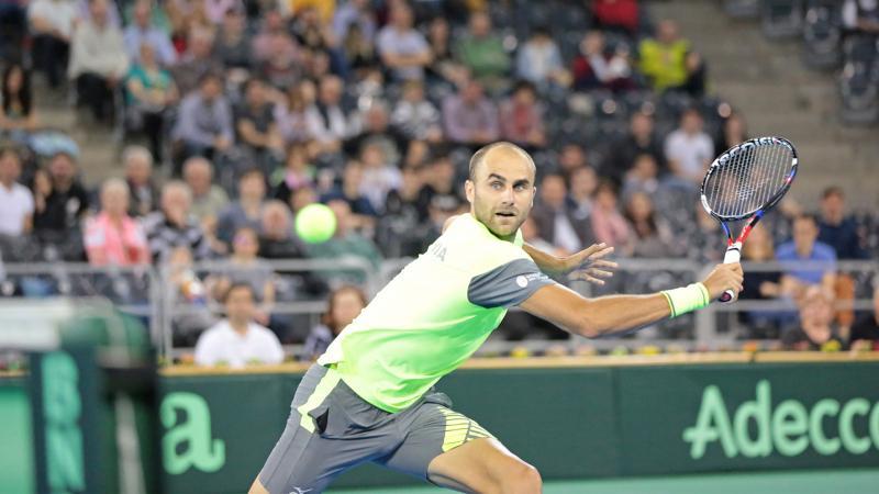 Marius Copil egalează Portugalia în Cupa Davis Arădeanul urmează să susțină duminică două partide