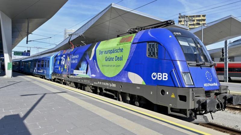 Trenulsimbol al Europei ajunge la Arad La sosire călătorii vor avea parte de două concerte