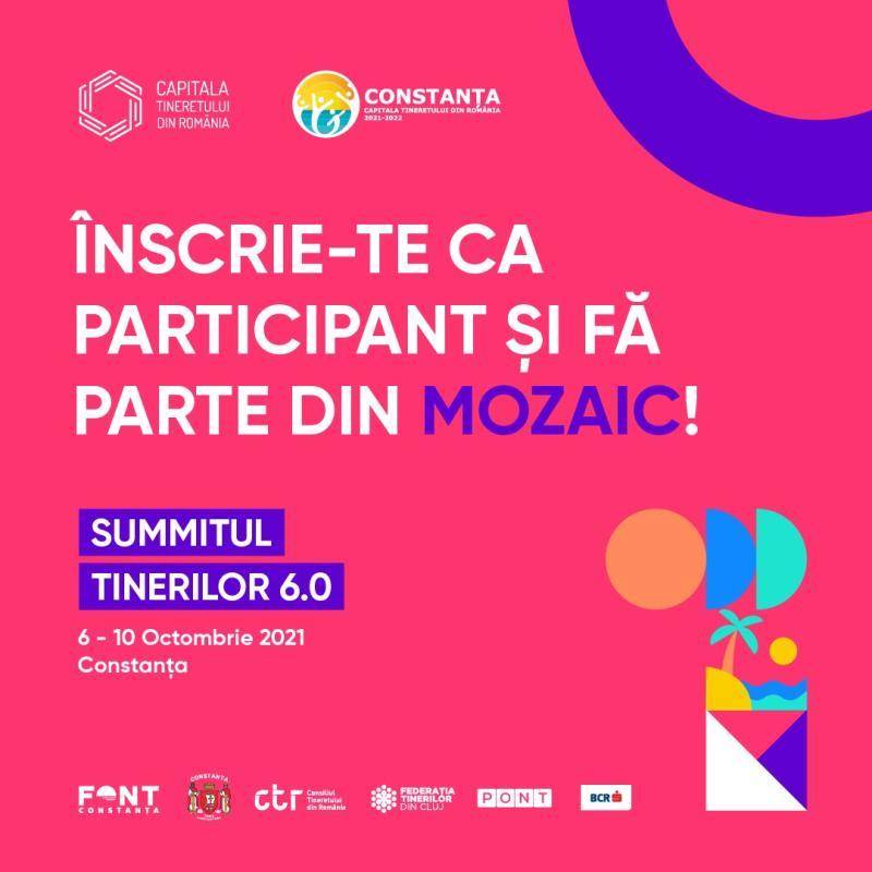 300 de tineri sunt așteptați în Constanța pentru a lua parte Summitul Tinerilor 60 MOZAIC