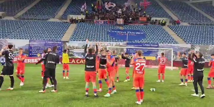 FCU Craiova  FCSB 01 Claudiu Keșeru declarații după victoria din Bănie