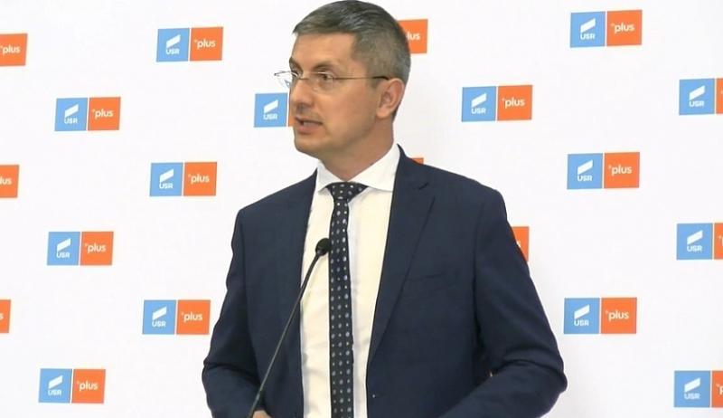 Parlamentarii USRPLUS au semnat moțiunea de cenzură împotriva premierului Florin Cîțu