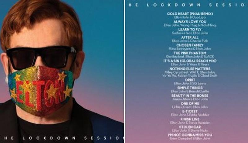 Elton John lansează albumul The Lockdown Sessions