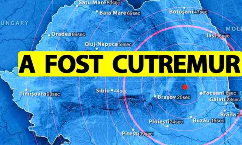 Cutremur în România în urmă cu puțin timp Unde sa produs seismul și ce magnitudine a avut