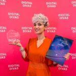 Eea Ikeda este câștigătoarea categoriei Rising Stars In Fashion amp Beauty On YouTube în cadrul Digital Divas 2021