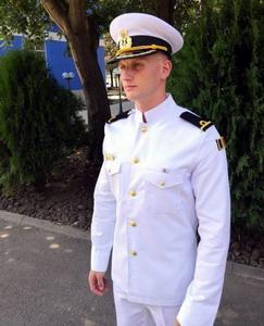 Ciprian Gălușcă Iubesc marea uniforma și tradiția marinăVIDEO