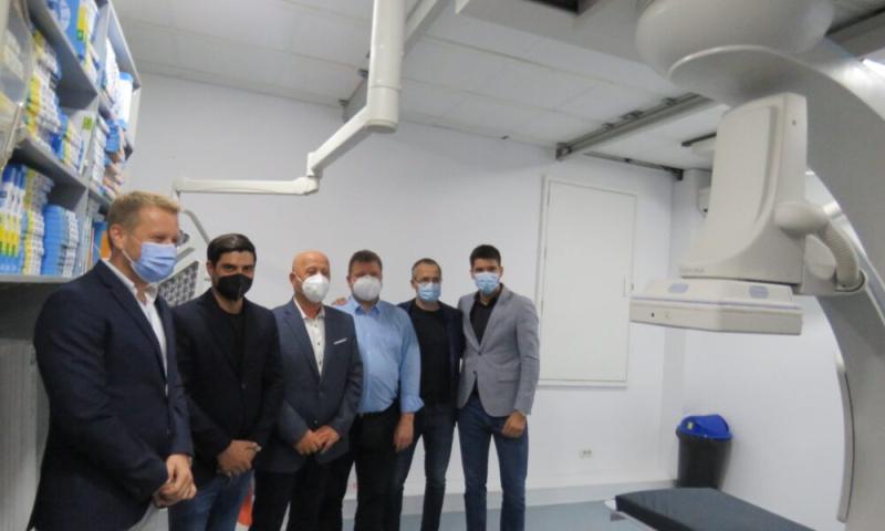 Tulcea are de acum centru de angiografie ARES liderul cardiologiei intervenționale din România inaugurează un centru în Spitalul Județean de Urgență Tulcea