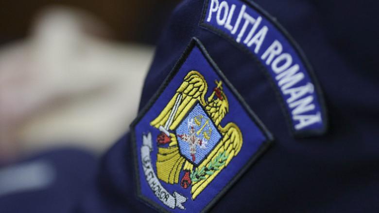 Accident de circulație cercetat de polițiști