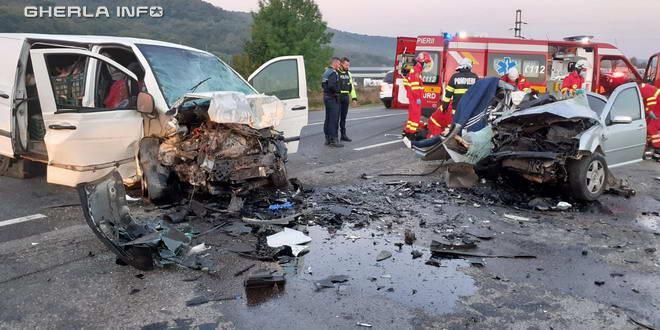 Doi șoferi au murit în accident pe șoseaua ClujOradea la Căpușu Mare  VIDEO