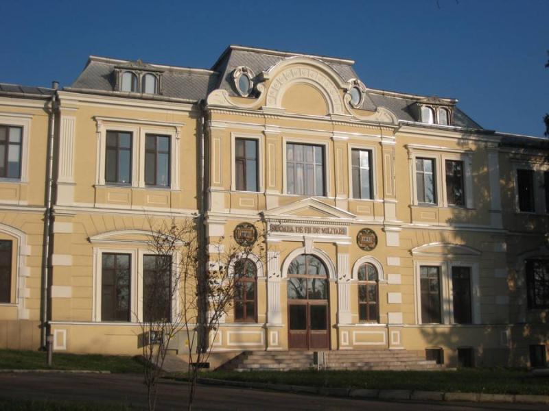 Școala de fii de militari liceul din Copou primul din armata română Înființat prin Înalt Decret Regal desființat de comuniști