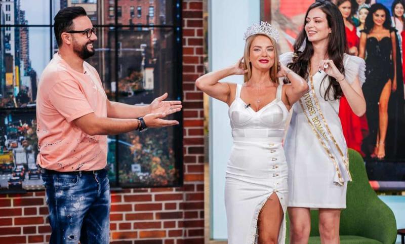 Blonda de la ora 3 mai tare decât știrile de la ora 5 Roxana Condurache noua vedetă de la Pro TV